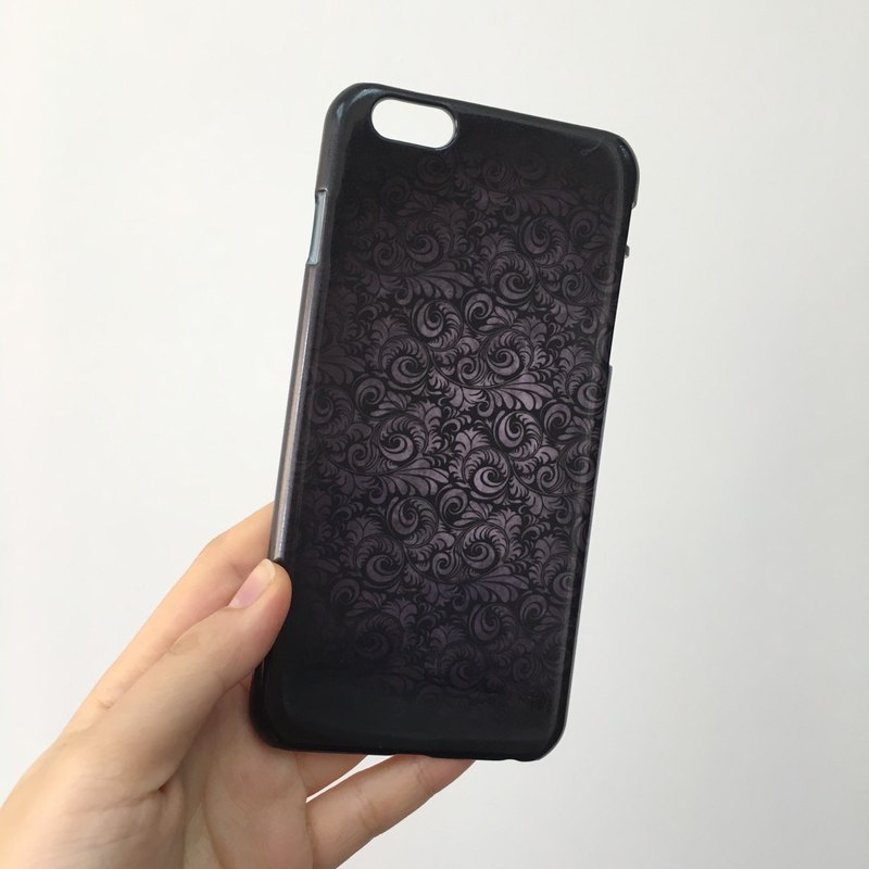 hot sale online b1f22 ac2df Black damask Pattern 3D Full Wrap Phone Case, available for iPhone 7,  iPhone 7 Plus, iPhone 6s, iPhone 6s Plus, iPhone 5/5s, iPhone 5c, iPhone  4/4s, ...