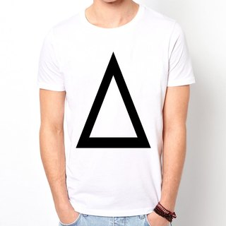 Prism A T-shirt -2 color triangle geometric fashion design cheap own brand