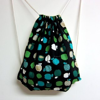 Dream Love Green Apple * Following the cotton beam port backpack