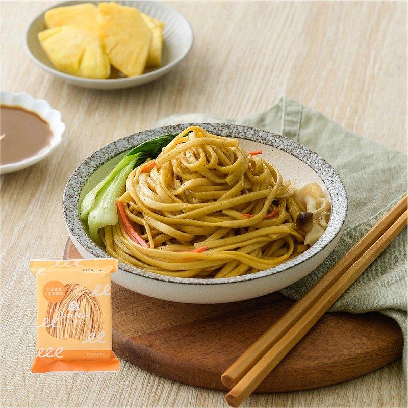 【森林麵食】竹山番薯乾麵X風味麻醬(4包)