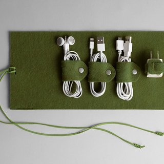 Wire storage package green
