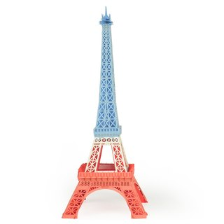 Papero paper landscape DIY mini models - Eiffel Tower (General) / Eiffel Tower (Mix)