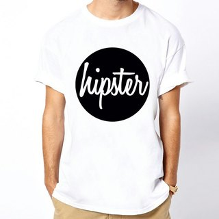 Circle hipster Logo T-shirt -2 color Wen Qing trendy triangle fashion design cheap own brand