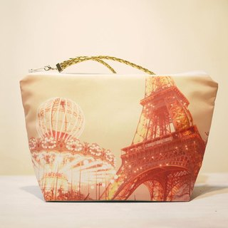 [Good] portable travel cosmetic bag ◆ ◇ ◆ large tower and carousel ◆ ◇ ◆