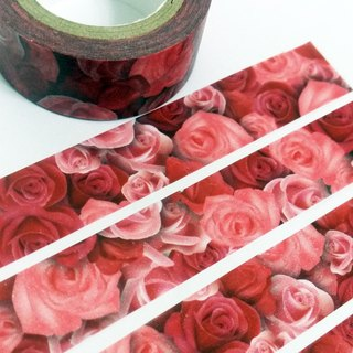 Masking Tape Rose Rose I love you