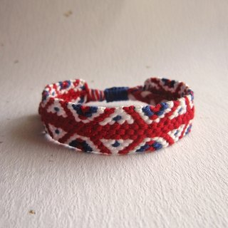 British style lucky rope woven bracelet