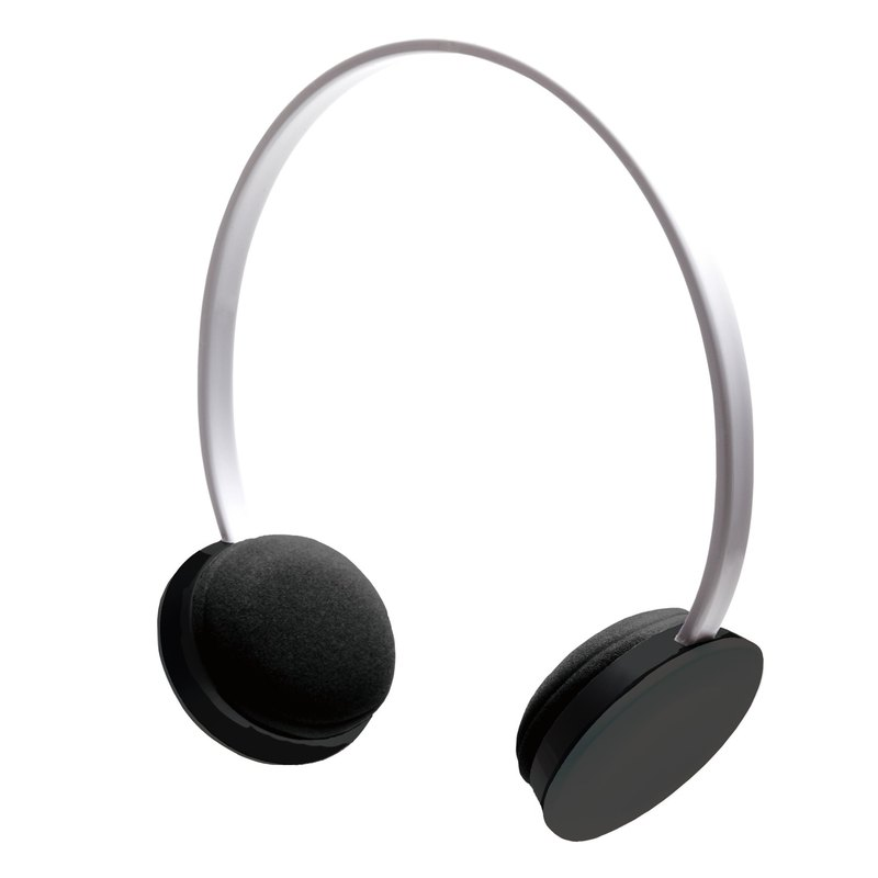 Exclusive live sound system │ │hoomia hospitality] [U2 Me simple low-key (white + dark gray headlines ears) color is defined. Colorful life. Stereo Headphone