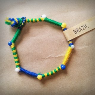 FIFA WORLD CUP / World Cup / hand-woven bracelet / foot ring