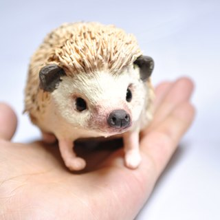 customized products Pet Doll 11-13 cm ( Hedgehog ) can be used as ornaments hand