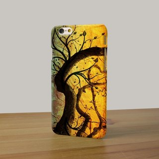 Oil Painting Art Tree 3D Full Wrap Phone Case, available for  iPhone 7, iPhone 7 Plus, iPhone 6s, iPhone 6s Plus, iPhone 5/5s, iPhone 5c, iPhone 4/4s, Samsung Galaxy S7, S7 Edge, S6 Edge Plus, S6, S6 Edge, S5 S4 S3  Samsung Galaxy Note 5, Note 4, Note 3,