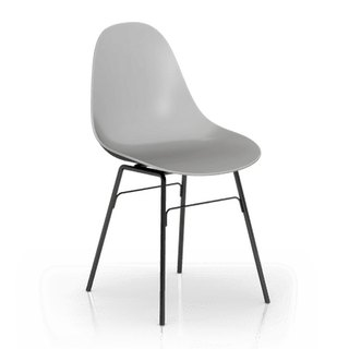 TOOU Side Chair Chair Legs with black (gray)