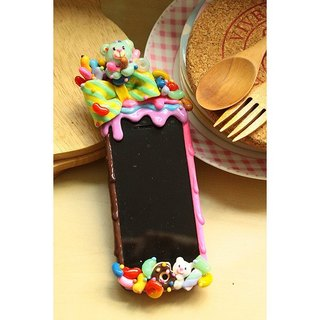 YAMUYAMU colorful flaming Craze Bumper Yamu Yamu phone frame bumper cover