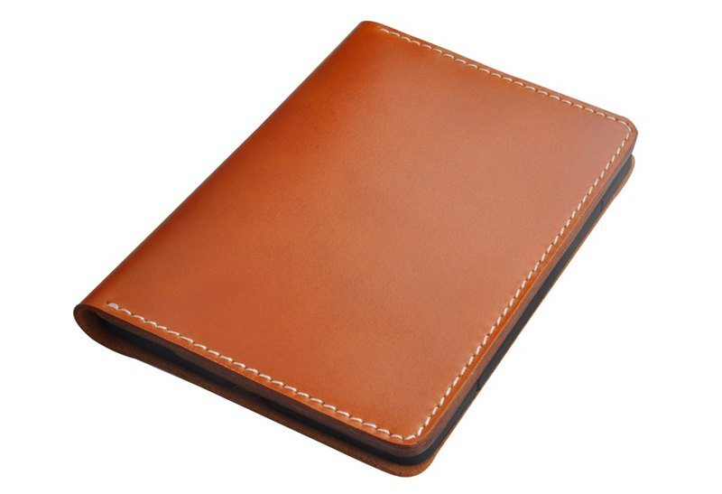 Amazon kindle Voyage eBook handmade leather protective sleeve protective shell clamshell tri-color choice