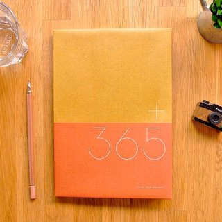 365 take note Ⅵ v.2 [leather / orange] soon out of print ▲ ▲