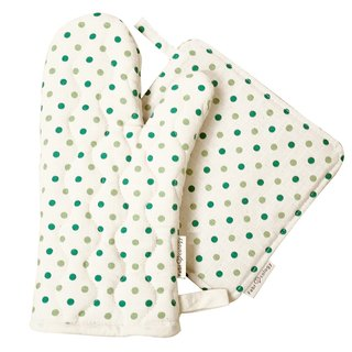 Color pattern and insulation pads Shuiyu + gloves [Green]
