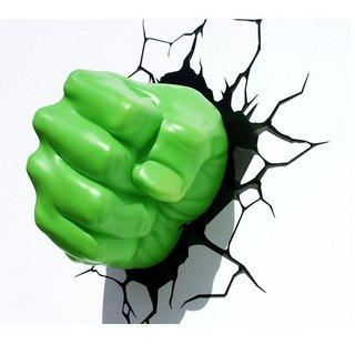 3D Light FX - Marvel Series Hulk Right Fist - 3D立體造型燈 浩克右拳