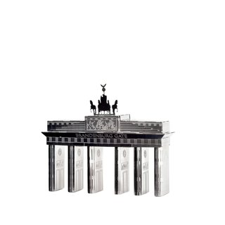 Metal mini city - Berlin Brandenburg Gate