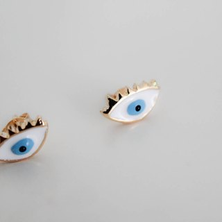 Blue Eye earring