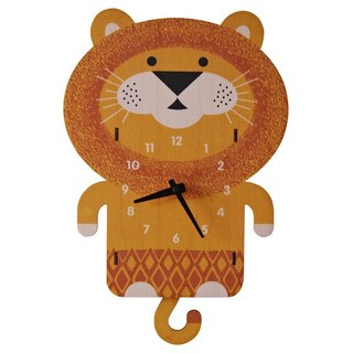 Modern moose-3D wall clock- lion pendulum clock