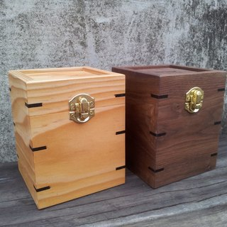 [Original.] Build wooden money box