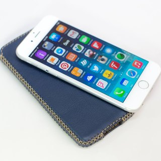 [Spot area] iPhone 6 vertical leather holster, red, green, blue, yellow, coffee spot each one