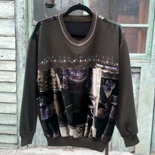 Art World embroidery cardigan