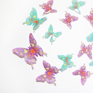 HomePlus 3D Contemporary Art Butterfly