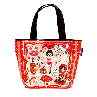 Coplay small tote bag-the different little red hat