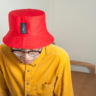 L'appeso Lightweight Comfortable Wilderness Hat - Apple Red