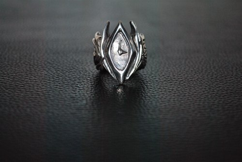 | Alarein | handmade silver | Forest Series | Ring | Kros