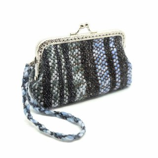 Little Boy's Handwoven Kisslock Purse