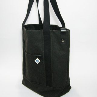● super tough big Tote (canvas) __ as for zuo zuo Handmade Tote