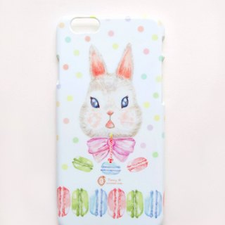 Happy Birthday Series / Macaroon Rabbit Rabbit Phone Case Macaron (including printed name service)