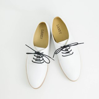 Lenny LANEY / White Derby Shoes_Female