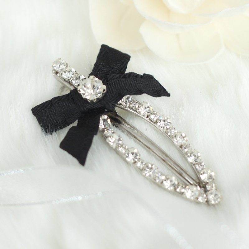 Graceful Rhinestones Hair Clip