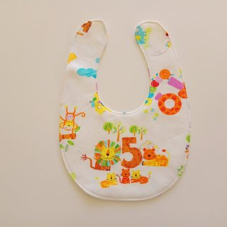 Lion haime gift baby bib pocket bib pocket