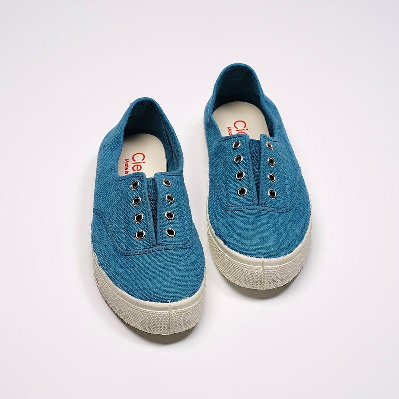 西班牙國民帆布鞋 CIENTA 10997 129 蔚藍色 經典布料 大人