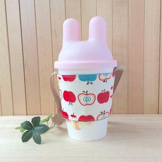 Adoubao- drink cup bag - small apple
