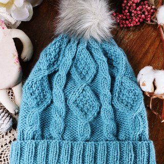 Handmade - Tiffany twist - wool wool cap