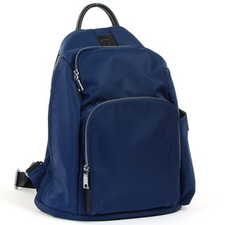 La Poche Secrete : Cosmic girl's lightweight back pack _ storage journey safe _ deep blue
