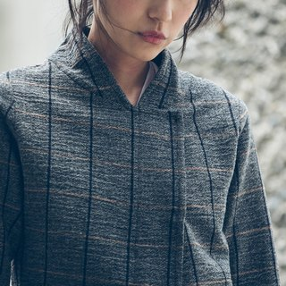 Military Short Jacket - Plaid