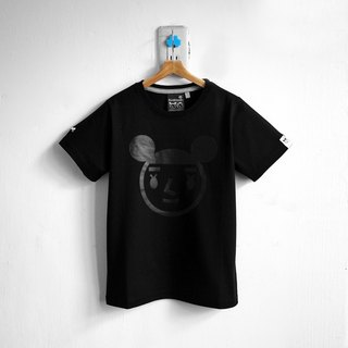 【BestFriend Kids】 Jumbo GirlFriend Logo T-Shirt / 03-BLACK Kids