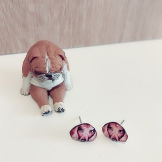 Dog Earrings Series Dachshund