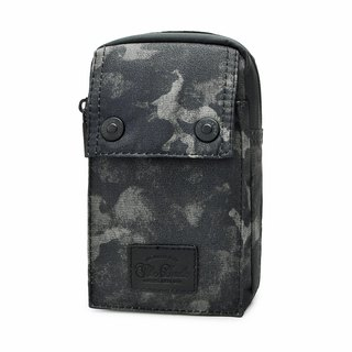 [THE DUDE]Darter Lightweight Pocket Waist Bag - Green Camouflage