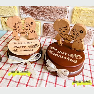 [Valentine's Day Gift, Commemorative Gift] Wedding Wedding Wedding Three-dimensional Carving Music Box