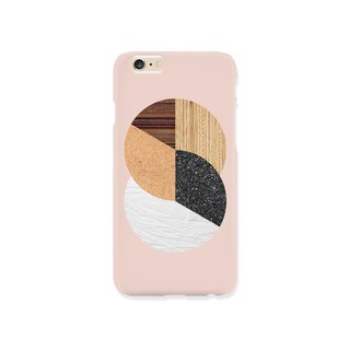 iPhone case - Abstract Nature Warm Tones for iPhones  - non-glossy hard case