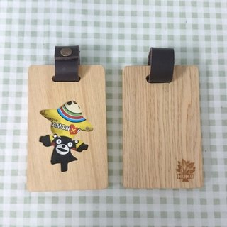 Wooden ticket holder - Scarecrow