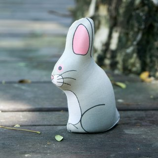 US Rubbabu Washable Natural Latex Toys - Rabbit - Biodegradable Infant Green Toys