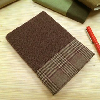 Junior A6 clothes ~ purple cloth book (the only commodity) B04-019