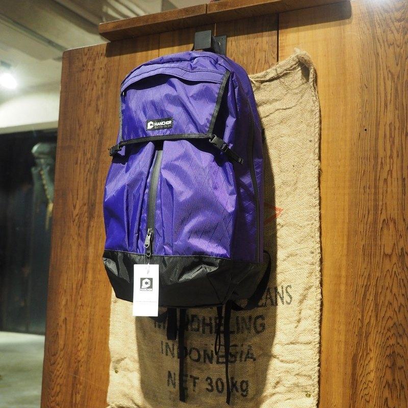 PIPE-T1 生活防水後背包 紫